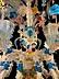 Details: Großer sommerlicher Murano Lüster