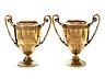 Details: Zwei große Londoner Vermeil-Pokale