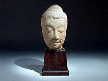 Buddha-Steinkopf