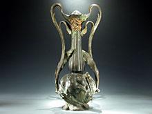 Hohe Jugendstil Vase