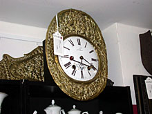 Französische Wanduhr Comptoise-Uhr