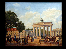 Berliner Biedermeier Maler