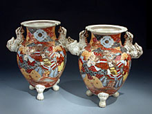 Zwei japanische Vasen