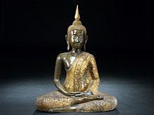 Sitzender Buddha aus Siam