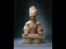 Musikantin der Han-Dynastie