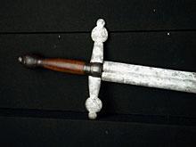 Spätgotisches Schwert