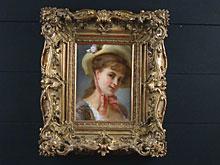 Leon-Daniel Berard  Französischer Maler des 19. Jhdt., geb. in Rio de Janeiro.