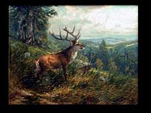 Georg Sommer  Deutscher Maler des 19.Jhdt.
