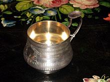 Silber-Teetasse