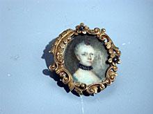 Kleine Portrait-Miniatur