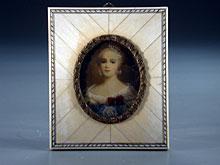 Miniaturportrait der Kaiserin Katharina
