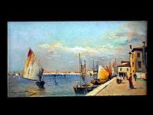 Eugen von Blaas  1843 Albano/Rom - 1931 Venedig