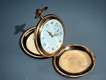 Goldene Herren-Taschenuhr