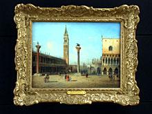 Carlo Grubacs Architekturmaler in Venedig, tätig um 1840/70.