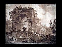 Hubert Robert 1733-1808 Paris