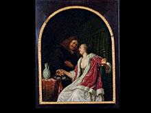 Frans van Mieris, d. J. 1689 Leiden - 1763 ebd., zugeschrieben