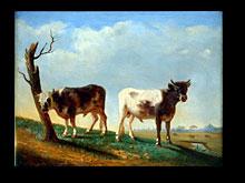 Johann Nepomuk Rauch 1804 Wien - 1847 Rom Maler der Wiener Akademie