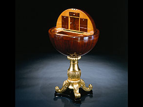 Biedermeier-Globustischchen