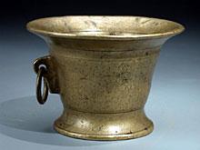Kleiner Bronze-Mörser