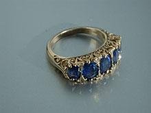 Saphir-Ring