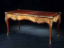 Französiches Bureau-Plat im Louis-XV-Stil