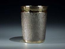 Schlangenhaut-Silberbecher