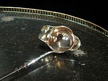 Silber-Schöpfkelle