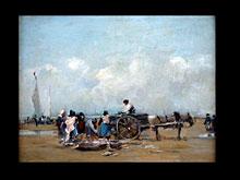 Eugené Boudin  1824 Honfleur - 1898 Paris, zugeschrieben