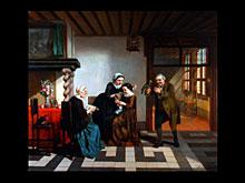 Josef van Bree (Brees) Holländischer Maler des 19. Jhdts.