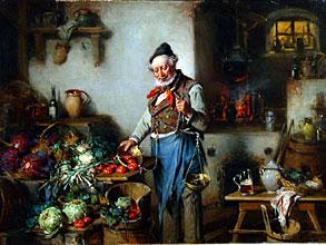 Hermann Kern 1839 Liptoujvar - 1912 Maria Enzersdorf