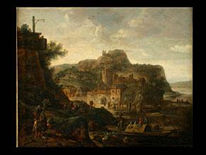 Herman Saftleven 1609 Rotterdam - 1685 Utrecht, zugeschrieben