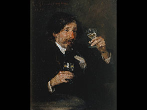 Ernst Karl Georg Zimmermann 1852 München - 1901 München