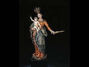 Mondsichel-Madonna von Matthias Schwanthaler