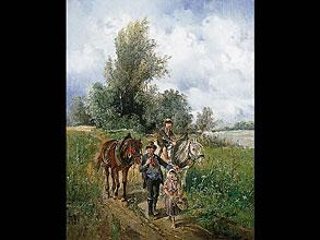 Joseph Wopfner 1843 Schwaz/Tirol - 1927 München