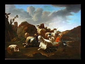 Philipp Peter Roos,  gen. Rosa da Tivoli 1655/57 Frankfurt a.M. - 1706 Rom, zugeschrieben