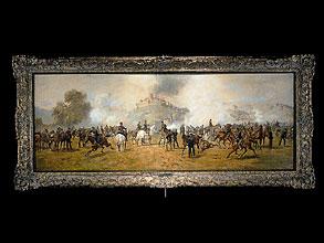 Louis Braun 1836 Schwäbisch Hall - 1916 München Bedeutender Münchener Schlachtenmaler