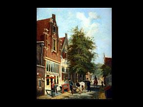 Cornelis Springer  1817 Amsterdam -  1891 Hilversum