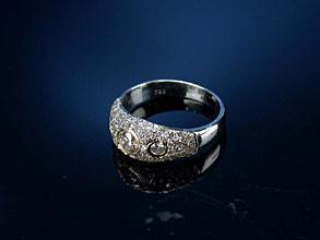 Diamant-Bandring