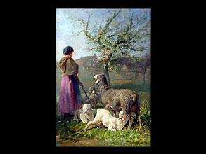 Charles Emile Jacque 1813 Paris - 1894 London/Paris