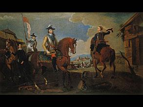 August Querfurt  1696 Wolfenbüttel - 1761 Wien, zugeschrieben