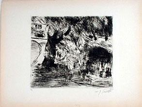 Lovis Corinth  1858 Tapiau -  1925 Zandvoort