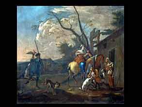 Nikolaes Berchem  1620 Halem - 1680 Amsterdam, Art des