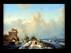 Andreas Schelfhout 1787 Den Haag - 1870 ebenda