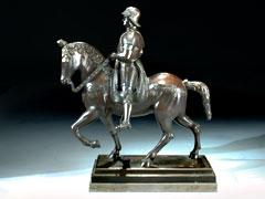 Bronze-Reiterstandbild des Colleoni