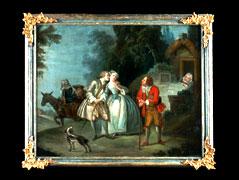 Französischer Maler des 18. Jhdts