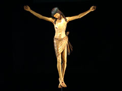 Italienischer Christuskorpus des 15. Jhdt.