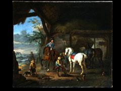 Pieter Wouwerman 1623 Haarlem - 1682 Amsterdam, zugeschrieben