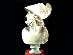 Stuckbüste des Menelaos
