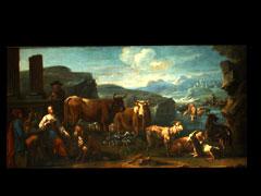 Philipp Roos, gen. Rosa da Tivoli, 1655/57 Frankfurt - 1705 Tivoli