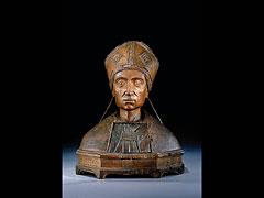 Italienische Reliquienbüste des 15. /16. Jhdts.